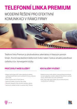 Telefonní linka PremiumAktuální k 22. 2. 2016. - T