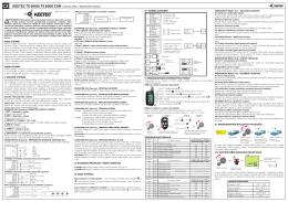 keetec ts 6000/ ts 6000 can autoalarm montážní