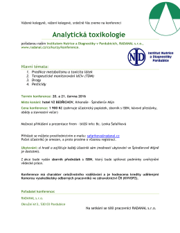 Analytická toxikologie