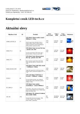 LED diody - LED