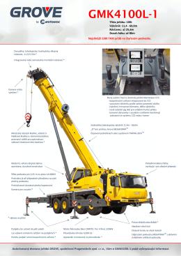 GMK4100L-1 - Pragotechnik