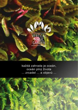 každá zahrada je oceán, oceán plný života zrcadel a objevů