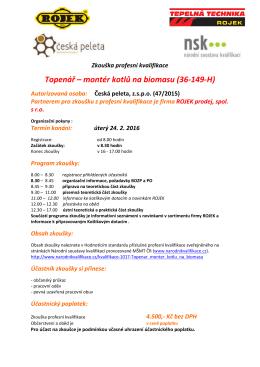 Zkouška profesní kvalifikace_program ROJEK 24.2