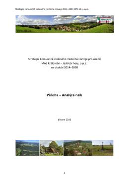 Analýza rizik - Království