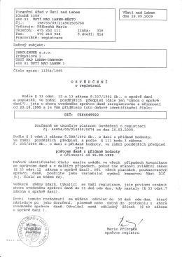 Osvědčení o registraci DPH ( pdf, 641.55 KB )