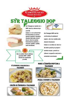 nabídka taleggio