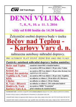 .- Karlovy Vary d. n. Bečov nad Teplou