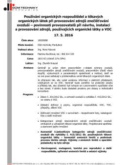 obsah - Dům techniky Pardubice
