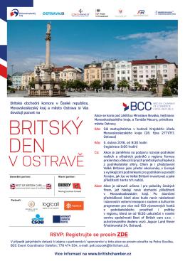 britský den - CzechInvest