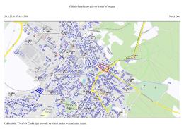 Odstávka el.energie-orientační mapa