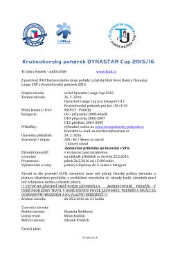 TJ Jiskra Nejdek - oddíl LKNH www.lknh.cz Z
