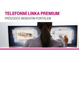 Telefonní linka premium - T