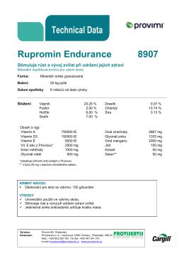 Rupromin Endurance 8907