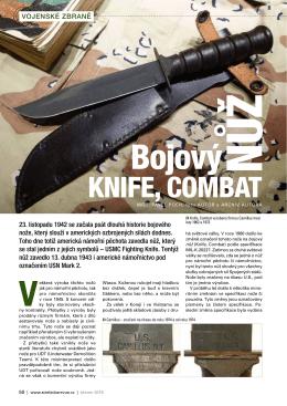 Bojový nůž Knife, Combat