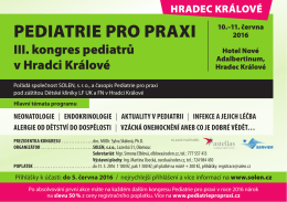 pediatrie pro praxi - Neurologie pro praxi