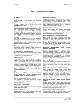 hlava 1 – definice a obecné principy