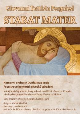 KODK_Plakat_Pergolesi_A3_lowres - Komorní orchestr Dvořákova