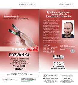 pozvánka - Heraeus Kulzer