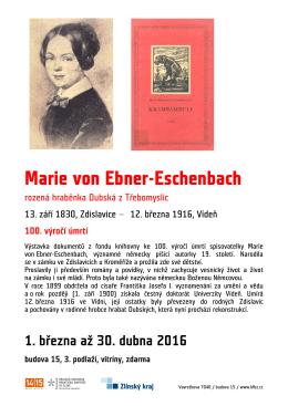 Marie von Ebner