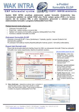 ERP informační systém