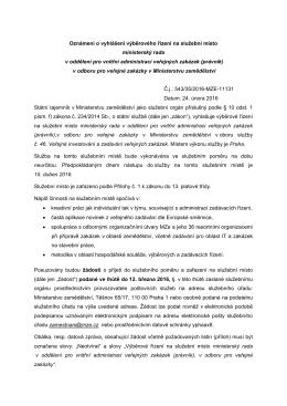 PDF, 229 KB - Ministerstvo zemědělství