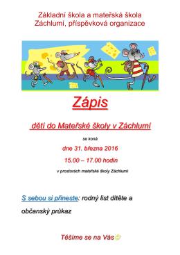Mateřská škola Třemošná