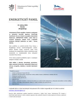 energetický panel