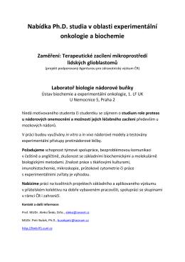LBNB nabídka PhD 2016