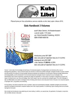 Gels Handbook 3 Volumes