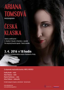 Roztocké muzeum - A.Tomsová a AMO LA MUSICA