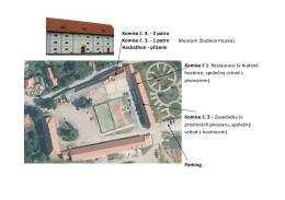 Plánek rozmístění komisí