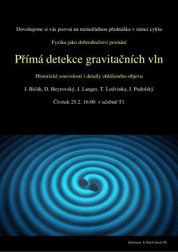 Přímá detekce gravitačních vln