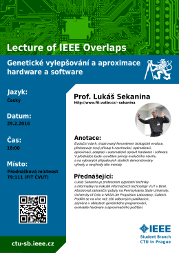Lecture of IEEE Overlaps