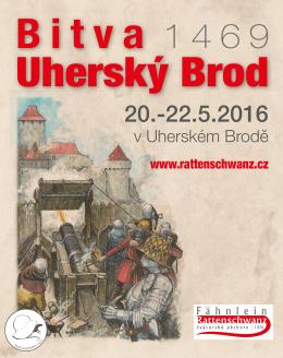 Pozvanka bitva Uhersky Brod 1469