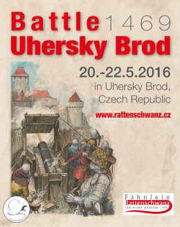 Invitation battle Uhersky Brod 1469