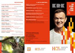 Informator – marzec 2016 - Nowohuckie Centrum Kultury