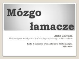 Anna Załęcka