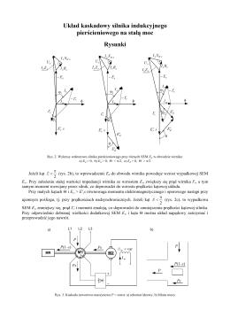III.7 Układy kaskadowe silnika indukcyjnego pierścieniowego na