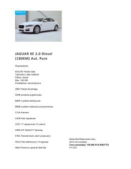 XE biały - centrumcars24.pl