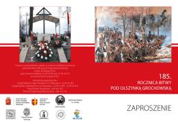 zaproszenie - Krąg Pamięci Narodowej