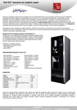 DLH 627 Automat do ciepłych napoi