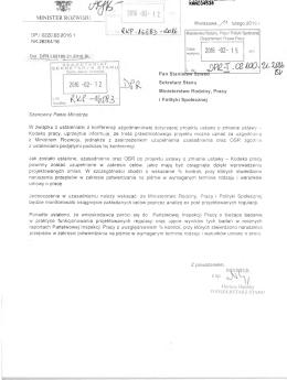 MINIST CK KUi wuju - Ministerstwo Pracy i Polityki Społecznej
