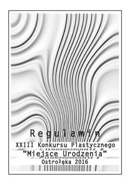 R egulamin - Ostrołęckie Centrum Kultury