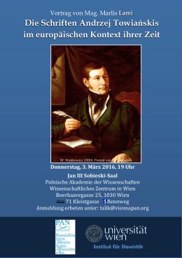 Die Schriften Andrzej Towiańskis