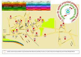 Mapa Aptek zbierających leki -2013