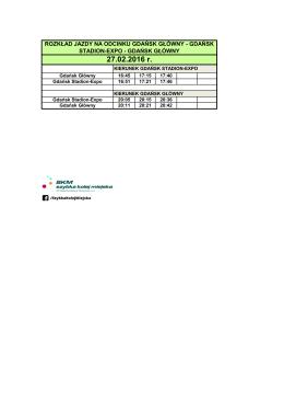 Szczegółowy rozkład jazdy pdf.