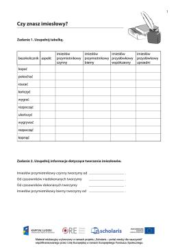 karta pracy POL07101