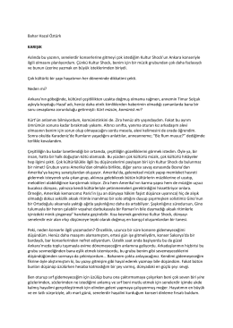 Karışık - Bilkent WEB2 Services