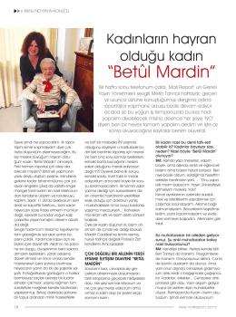 """Kadınların hayran olduğu kadın """"Betûl Mardin"""""""