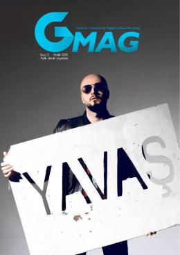 Aralık 2015 - GMag Türkiye`nin 1 Numaralı Gey Yaşam Tarzı Dergisi